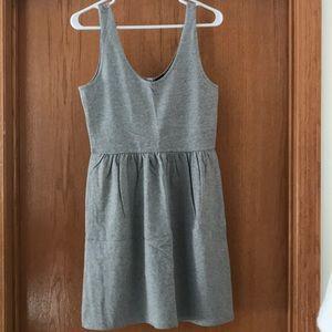 Jcrew button back dress